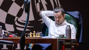 Der wankelmütige Herausforderer des Schach-Königs