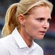 Trainerin Sarina Wiegman steht mit den Niederlanden schon wieder in einem Finale.