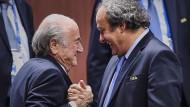 Blatter-Platini-Fehde wird immer bizarrer