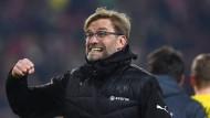 Schon wieder gewonnen: Dortmund und Trainer Jürgen Klopp sind auf dem Weg nach oben