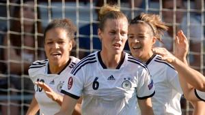 Losglück für die deutschen Fußball-Frauen