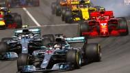 Vom Start weg vorne: Lewis Hamilton