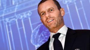 Ceferin bleibt erster Mann des europäischen Fußballs