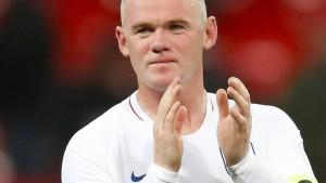 Das umstrittene Abschiedsspiel des Wayne Rooney