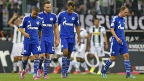 Nach der Pleite in Gladbach:Frust auf Schalke
