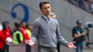 Viele Ausdrucksformen, eine Botschaft: Seitdem Niko Kovac Trainer ist, geht es mit der Eintracht aufwärts.