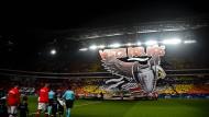 Viele BVB-Fans haben das nicht gesehen: Die Zuschauer kamen verspätet ins Stadion - offensichtlich wegen überforderter Einlasskontrolleure