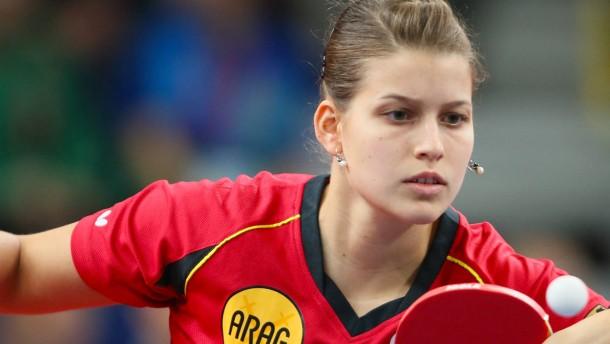 EM-Titel-Hattrick für Tischtennis-Frauen