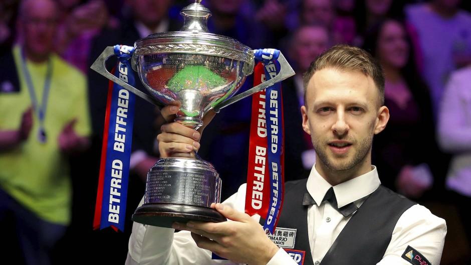 Der neue König des Snooker: Die geschlagene Konkurrenz prophezeit eine jahrelange Dominanz von Judd Trump.
