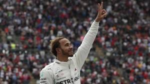 Lewis Hamilton krönt sich in Mexiko zum Weltmeister