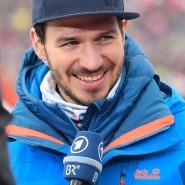 Felix Neureuther verbreitet auch als Fernsehexperte gute Laune.