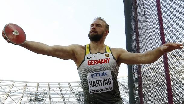 Diskus-Olympiasieger Harting verpasst Medaille