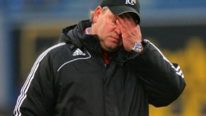 Rostock entlässt Trainer Pagelsdorf - Schlünz übernimmt