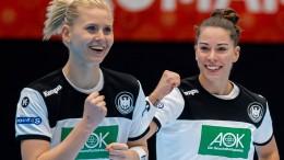 Deutsche Frauen besiegen Rekord-Olympiasieger