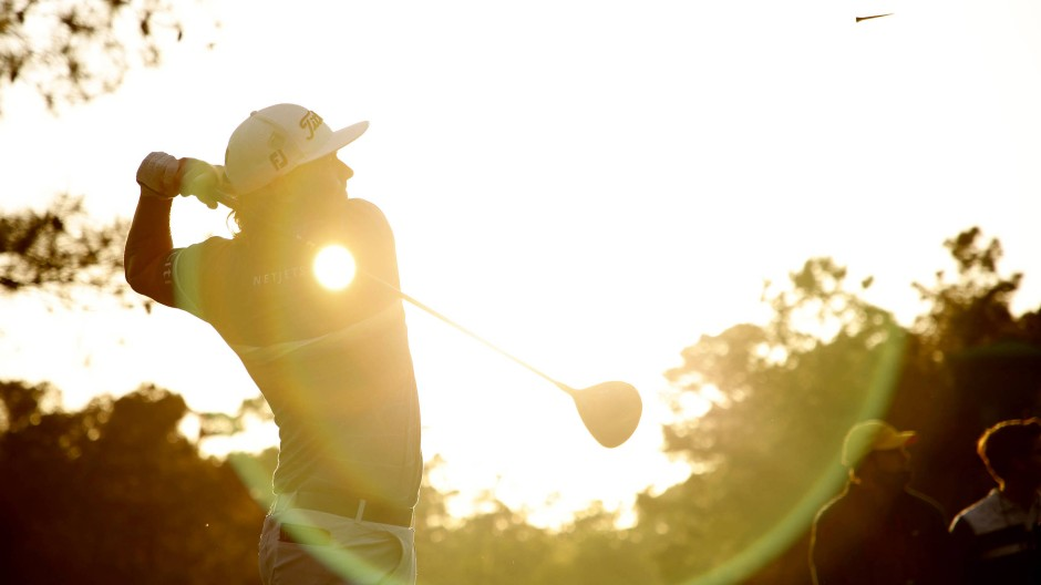 Der Schein trügt: Die Golfer um Cameron Smith hatten einen schweren ersten Tag beim Masters in Augusta.
