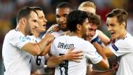 Diesmal durften die Deutschen nicht so oft jubeln wie in den Spielen zuvor.