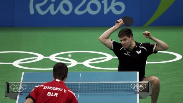 Nach Boll scheitert auch Ovtcharov