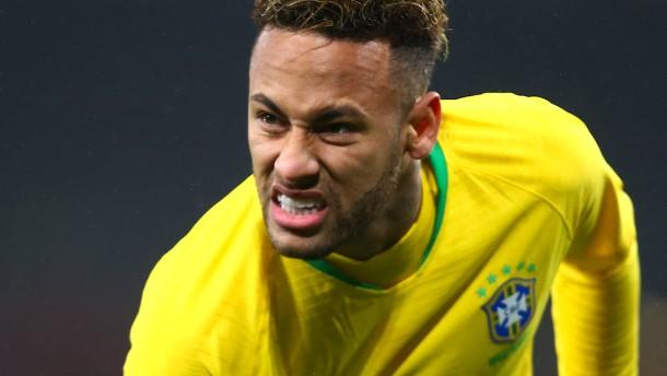 Neymar nach Eklat nicht mehr Brasiliens Kapitän