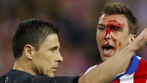 Torloses, aber nicht blutleeres Madrider Derby - Juve im Vorteil