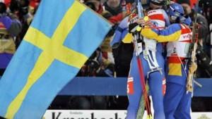 Schwedens Biathleten am besten gemischt
