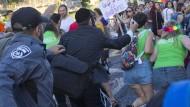 Ultraorthodoxer Jude sticht Menschen bei Schwulenparade nieder