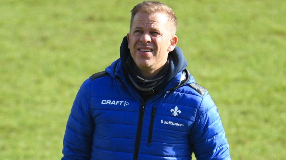 Will mit seinem Team den Klassenverbleib schaffen: Darmstadt-Coach Markus Anfang