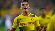 Maximilian Philipp brachte Dortmund mit seinen Toren auf die Siegerstraße.