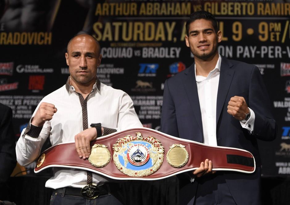 Arthur Abraham hat gegen Gilberto Ramirez nur den Vorkampf – es geht dennoch um seinen Titel