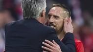 Warum Ribéry einen Kuss von Ancelotti bekam