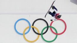 Snowboard-Spektakel in der Luft