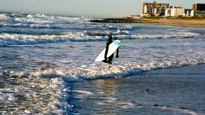 Die Surfer aus der atemlosen Stadt