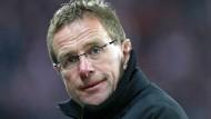 Rangnick wird auch Trainer bei RB Leipzig