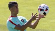 Cristiano Ronaldo und Portugal stehen an diesem Sonntag im EM-Finale.