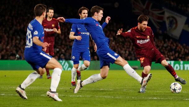 Barcelona schafft Remis in London