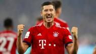 Einfach stärker als die anderen: Bayerns Lewandowski