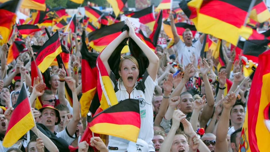 Jubel, Trubel, Heiterkeit – im Sommer 2006 bei der Fußball-WM.