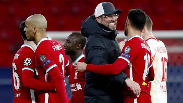Klopp jubelt wieder in der Champions League