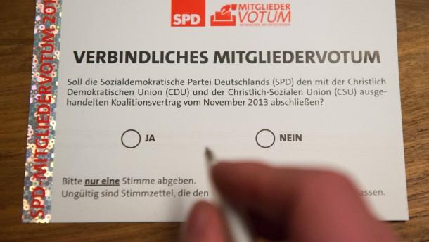 """""""SPD-Mitgliedervotum verfassungsrechtlich bedenklich"""""""