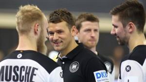 Schwungvoller Auftritt der deutschen Handballer