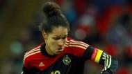 Deutsche Fußballfrauen stürmen Wembley