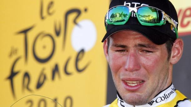 Weinender Cavendish wieder da - Sieg vor Ciolek