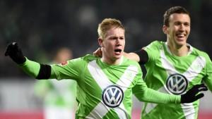 Wolfsburg demontiert die Bayern