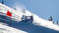 Die deutschen Alpinen sind im Olympiawinter gut in Schwung gekommen: Thomas Dreßen fährt als erster Abfahrer seit 2004 aufs Podest