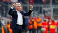Erfolgreiche Rückkehr in die Champions League: Jupp Heynckes siegt mit den Bayern