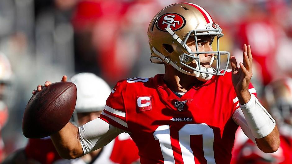 Aus Bradys Schatten getreten: 49ers-Quarterback Jimmy Garoppolo