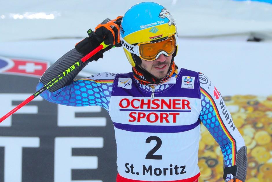 Die deutschen Alpin-Fahrer um Felix Neureuther bleiben in St.Moritz ohne Medaille