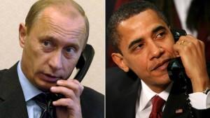 Putin und Obama sprechen über Lösung der Ukraine-Krise
