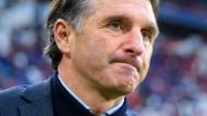 Bruno Labbadia könnte schon bald als Trainer Hertha BSC übernehmen.
