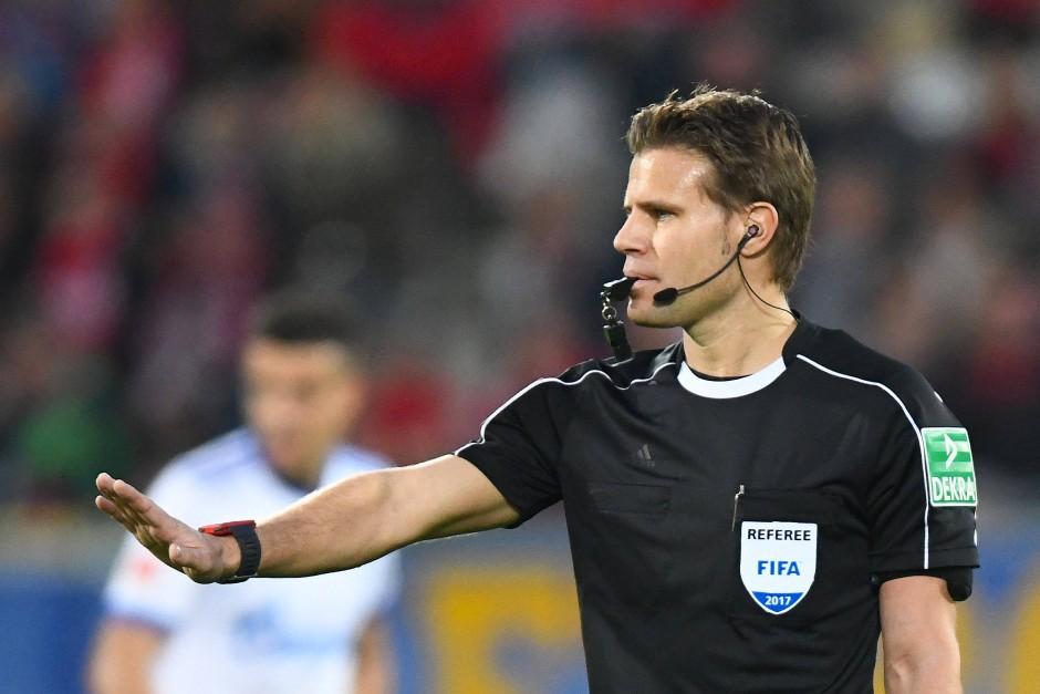 Der deutsche Hüter des Reglements: Felix Brych