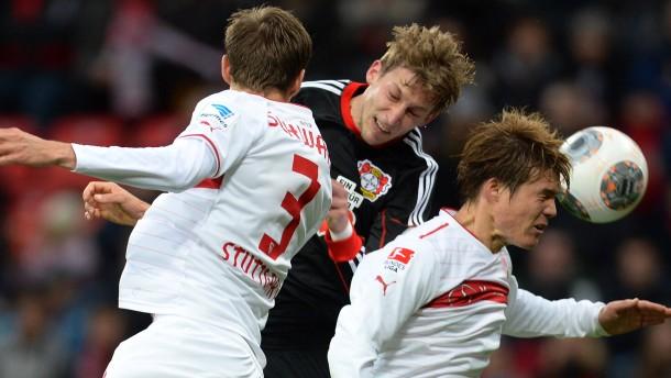Leverkusen siegt sich aus der Krise